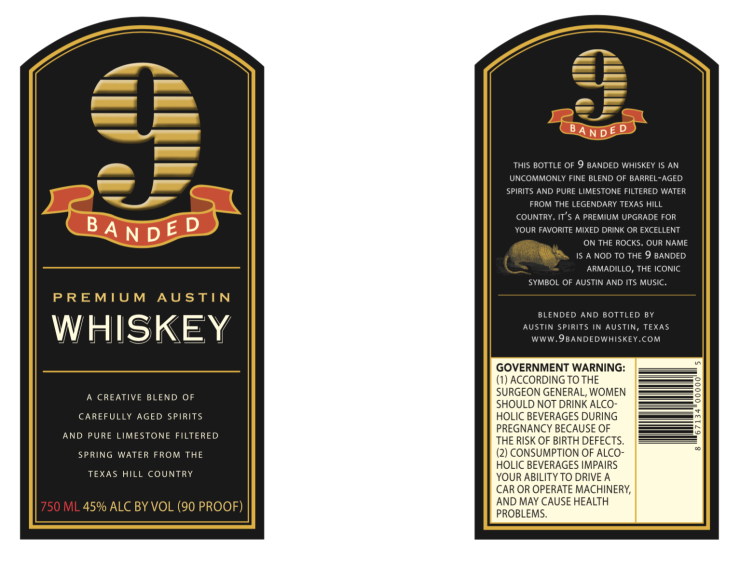 9-banded-whiskey-label