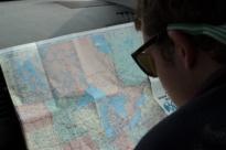 Co-Pilot and Navigator Davis Brown